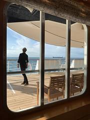 On deck (John D Fielding) Tags: marella explorer steamship cruise deck tui liner deckchairs window sea