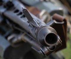 Victory Show 2019 II - MG42 (PhotoBuzzard) Tags: victoryshow cosby worldwar2 reenactment ww2 wwii worldwarii mg42 gun gunbarrel machinegun german