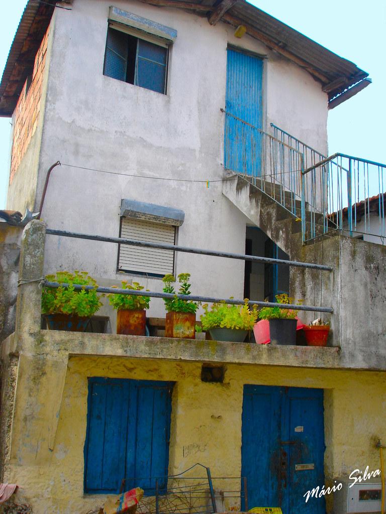 Águas Frias (Chaves) - ... uma casa na Aldeia (entretanto, remodelada) ...
