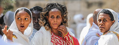 Imagine all the people Living life in peace (ybiberman) Tags: israel jerusalem ethiopianchurch ethiopiancathedral portrait candid streetphotography documentary women man maiden surprised excited frantic amhara tigray