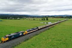 Photo of 37409 & 37419 with the Autumn Highlander