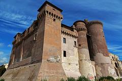 Il Castello di Santa Severa (Michele Monteleone) Tags: michelemonteleone45 2019 canon 5dmarkiii castello muro pietra torre cielo