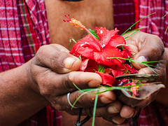 divine offering (Abhijit.sen) Tags: tarpan offerings divine mahalaya vedicritual travel incredibleindia