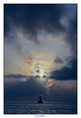 Lever de soleil sur la balise K13 - Kourou - Guyane (Laurent Asselin) Tags: sun sunrise sunshine leverdesoleil sky ciel mer océan soleil paysage landscape kourou guyane