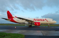 N642AC A320 Ex Avianca (corrydave) Tags: 5278 a320 avianca shannon pronk oelzc