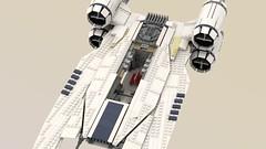 UCS UT-60D U-Wing (Mr_Idler) Tags: lego starwars ucs moc rogueone uwing
