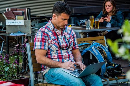 2019 - Road Trip - 70 - Bozeman - 9 - Laptop Lap