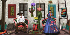#120 - La Chamaca se Chivea (Yvain Vayandar) Tags: tliallithefairaroundtheworld fair secondlife sl event mexico world furniture charro house adobe chamaca decoration antaya alequi kauna graffitiwear kuni wetcat stealthic mf wrong {id} evh bc bondi percent