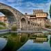 Υδραγωγείο Ιεράς Μονής Σταυρονικήτα Stavronikita Monastery Aqueduct panorama