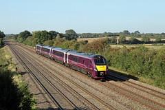 222104 Cossington (CD Sansome) Tags: cossington train trains mml midland main line meridian emr east midlands railway abellio 222 222104