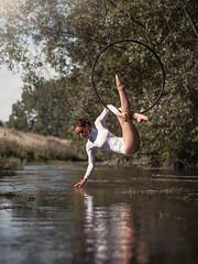 (dimitryroulland) Tags: dance dancer aerial nature natural light nikon d750 85mm 18 dimitryroulland performer art artist hoop pointe river water fitness