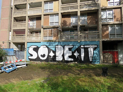 Have A Word by Kid Acne, Sheffield 2019 (Dave_Johnson) Tags: sobeit kidacne artist art publicart graffiti streetart sheffieldstreetart typography lyrics gallery exhibition haveaword picture painting paint s1 s1artspace parkhill sheffield yorkshire southyorkshire mural