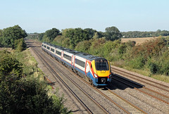 222004 Cossington (CD Sansome) Tags: cossington mml midland main line train trains meridian emr east midlands railway abellio 222 emt stagecoach 222004