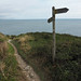on the costal path