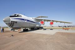 Ukrainian Air Force Ilyushin IL76 78820 Royal International Air Tattoo - 15/07/18 (Rob390029) Tags: ukrainian air force ilyushin il76 78820 royal international tattoo 2018