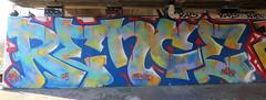 Graffiti In Amsterdam (wojofoto) Tags: amsterdam nederland netherland holland amsterdamsebrug flevopark graffiti streetart hof halloffame wojofoto wolfgangjosten rence