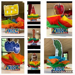Hungry hungry caterpillar birthday party centerpieces (playpatterns) Tags: kidsparties kidsbirthday centerpieces hungryhungrycaterpillar