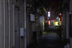 Cycliste de Minuit (Aphélie) Tags: tokyo 東京 japon 日本 japan