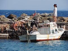 Ancient harbour of Assos (Behramkale), Turkey (Steve Hobson) Tags: harbour assos behramkale turkey boat