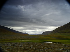 Clouds and Livamcohkka (dration) Tags: lapland kungsleden solohike landscape sky clouds mountain