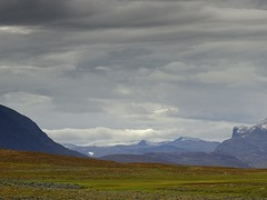Clouds and lines (dration) Tags: lapland kungsleden solohike landscape sky clouds mountain