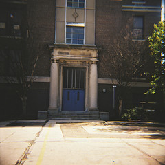 General George A. McCall Elementary and Middle School (Tom Ipri) Tags: filmphotography mediumformat dianaf philadelphia filmisnotdead shotonfilm philly 120film