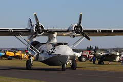 """Consolidated PBY-5A Catalina """"Miss Pick Up"""" 433915 (G-PBYA), Duxford Battle of Britain Airshow 2019 (robertetienne) Tags: iwmduxford battleofbritainairshow2019 consolidated pby5a catalina 433915 gpbya aircraft airplanes military classic warbirds aviation propellers seaplanes historicaircraft"""