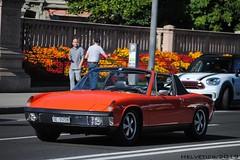 Porsche 914 - Switzerland, Geneva (Helvetics_VS) Tags: licenseplate switzerland geneva oldcars sportcars porsche 914
