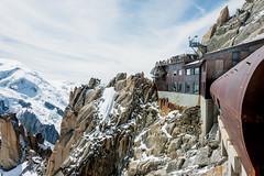 Au sommet de l'Aiguille du Midi (musette thierry) Tags: laiguille montage montblanc chamonix france musette thierry nikon d800 nikkor station plaforme