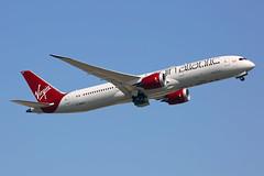 Virgin Atlantic - G-VNEW - Heathrow Airport (LHR/EGLL) (Andrew_Simpson) Tags: gvnew virginatlanticairways virginatlantic virgin boeing7879dreamliner boeing7879 boeing787dreamliner boeing787 boeingdreamliner boeing 7879dreamliner 7879 787dreamliner 787 dreamliner birthdaygirl vs vir takeoff departure departing depart leaving leave liftoff aircraft airplane aeroplane plane egll lhr londonheathrowairport londonheathrow heathrowairport heathrow middlesex unitedkingdom uk greatbritain gb london
