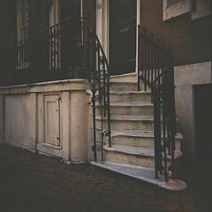 Stairs (Tom Ipri) Tags: filmphotography mediumformat dianaf philadelphia filmisnotdead shotonfilm philly 120film