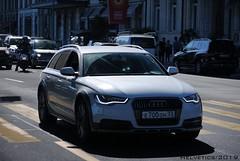 Audi A6 Allroad - Russia, Vladimir (Helvetics_VS) Tags: licenseplate russia vladimir