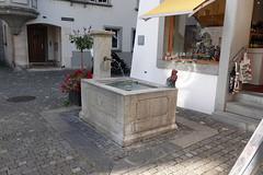 Water fountain in Stein am Rhein (ec1jack) Tags: switzerland steinamrhein ec1jack kierankelly september europe vacation roadtrip travel ater trough fountain