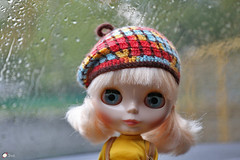 (Echo (EchoForDolls)) Tags: blythe doll goodygirlgogo beret echofordolls etsy crochet