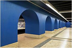 roma 21 (beauty of all things) Tags: italien rom roma piramide metro blue blau