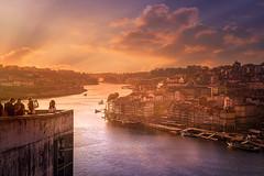 Oporto (Ro Cafe) Tags: view travel city cityscape river douro oporto portugal sunset nikkor2470mmf28 sonya7iii