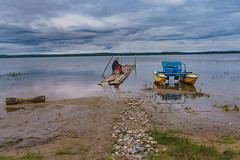KENO-063 (how24life) Tags: вода илья кенозерье2019 лодка лодки мост трип фототур лодочка мостики