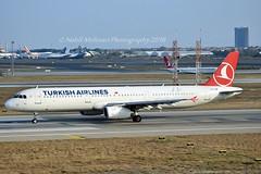 """""""Mut"""" Turkish Airlines TC-JSB Airbus A321-231 cn/5205 @ LTBA / IST 25-11-2018 (Nabil Molinari Photography) Tags: mut turkish airlines tcjsb airbus a321231 cn5205 ltba ist 25112018"""