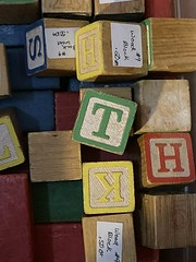 T (timp37) Tags: t toy blocks letters orland park antique store illinois september 2019