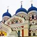 Onion Domes Estonia Cathedral Alexander Nevsky