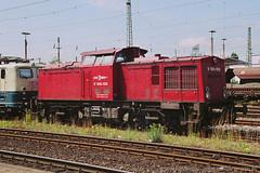 T0733_31A (MU4797) Tags: trein spoorwegen eisenbahn zug lwb v100 deutschereichsbahn lappwaldbahn v100120 schwerteruhr