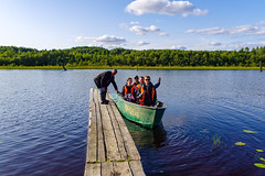KENO-122 (how24life) Tags: илья кенозерье2019 лодка лодки люди мост трип фототур лодочка мостики