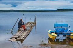KENO-064 (how24life) Tags: вода илья кенозерье2019 лодка лодки мост трип фототур лодочка мостики