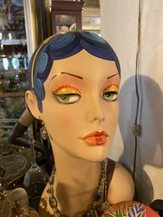 orland park antique store 2019 (timp37) Tags: antique store mannequin head illinois orland park september 2019 statue