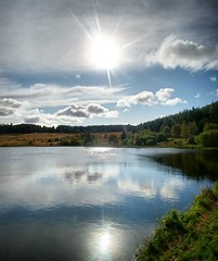 Photo of #Scottish #loch in #autumn #sunshine #water #reflections #nature