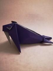 Walrus (Fernando Gilgado Gomez) (Matt Origami) Tags: walrus fernandogilgadogomez gilgado fernando origami kami kamiduo