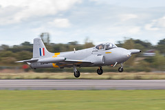 XM424/G-BWDS Hunting Percival Jet Provost T.3A (amisbk196) Tags: flickr unitedkingdom aircraft aviation essex northweald jetfest uk amis airfield 2019 gbwds xm424 hunting jet percival provost t3a