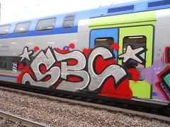 565 (en-ri) Tags: sbc hook 2019 024 grigio rosso nero train torino graffiti writing
