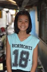 hormones (the foreign photographer - ฝรั่งถ่) Tags: girl pretty preteen khlong lard phrao portraits bangkhen bangkok thailand nikon d3200 hormones