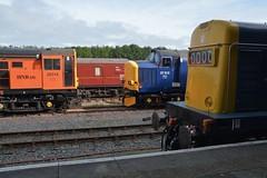 "HNRC Class 20/3, 20314, Class 37/6, 37612 & Preserved Class 20/0, D8154 (37190 ""Dalzell"") Tags: drs directrailservices unbrandedblue hnrc harryneedlerailroadcompany dayglow orange brblue rfsedoncaster rebuild ee englishelectric type1 whistlingwardrobe chopper class20 class200 class203 eps europeanpassengerservices type3 growler tractor class37 class376 d8154 20154 20314 20117 d8117 37612 37691 37179 d6879 dieselgala gcrn greatcentralrailwaynorth ruddington"